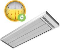Energotech Energostrip infra sugárzó fűtőtest