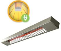 Energotech Energoinfra infra hősugárzó