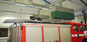 műhelyfűtés Energotech infra sugárzó