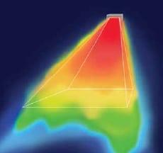 OHUNA sugárzása infra fényképen
